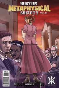 [The cover for Boston Metaphysical Society #5]