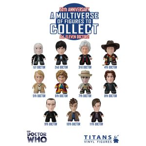 [Doctor Who: TITANS: 50th Anniversary: All 11 Doctors (Single Figure) (Product Image)]