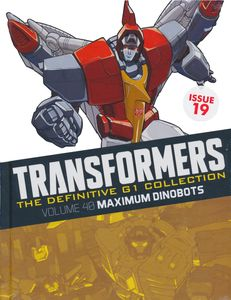[Transformers: Definitive G1 Collection: Volume 19: Maximum Dinobots (Hardcover) (Product Image)]