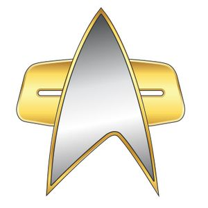 [Star Trek: Voyager: Communicator Badge (Product Image)]