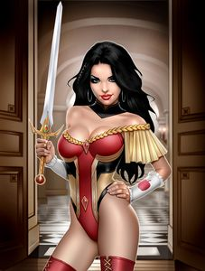 [Grimm Fairy Tales #48 (Cover C Keith Garvey) (Product Image)]