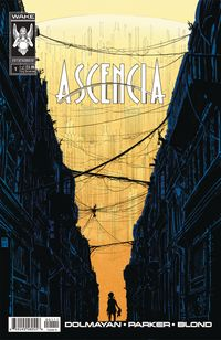 [The cover for Ascencia #1 (Cover A Tony Parker)]