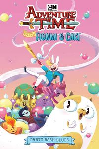 [Adventure Time With Fionna & Cake: Party Bash Blues (Product Image)]