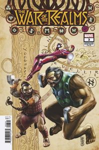 [War Of The Realms #3 (Camuncoli Connecting Realm Variant) (Product Image)]