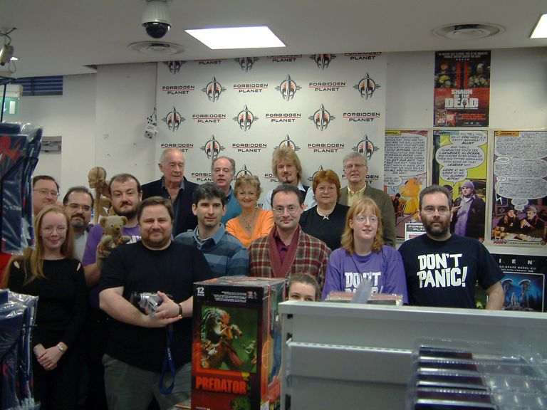 Hitchhiker's Guide to the Galaxy Signing