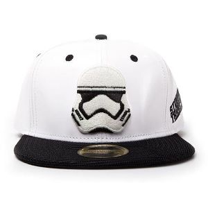 [Star Wars: Snapback Cap: Stormtrooper Embroidery (Product Image)]