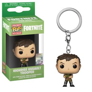 [Fortnite: Pocket Pop! Vinyl Keychain: Highrise Assault Trooper (Product Image)]