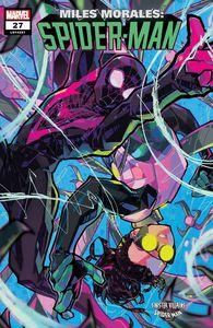 [Miles Morales: Spider-Man #27 (Besch Spider-Man Villains Variant) (Product Image)]