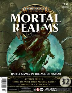 [Warhammer: Age Of Sigmar: Mortal Realms #32 (Product Image)]