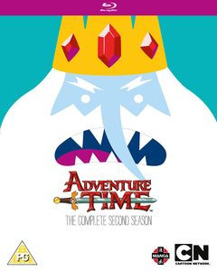 [Adventure Time: The Complete 2nd Season Blu-Ray (Product Image)]