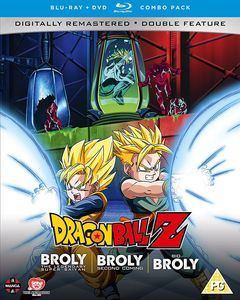 [Dragon Ball Z: Movie Collection Five: The Broly Trilogy (Blu-Ray/DVD) (Product Image)]
