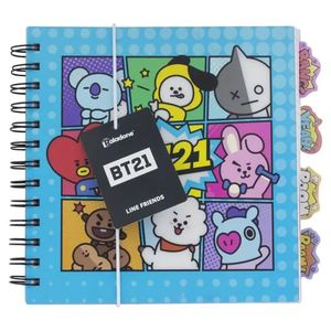 [BT21: Notebook & Dividers (Product Image)]