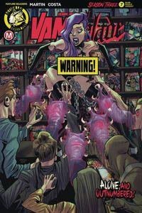 [Vampblade: Season 3 #7 (Cover B Costa Risque) (Product Image)]