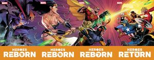 [Heroes Reborn #5 (Bagley Connecting Trading Card Variant) (Product Image)]