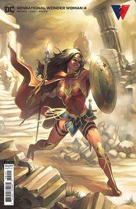 [Sensational Wonder Woman #4 (Meghan Hetrick Cardstock Variant) (Product Image)]