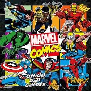 [Marvel Comics: Classic: 2021 Square Calendar (Product Image)]