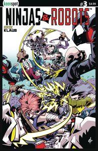 [Ninjas & Robots #3 (Cover B Scott) (Product Image)]
