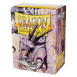 [Dragon Shield: Card Sleeves: Matte Lilac (Box Of 100 - Limited Edition) (Product Image)]