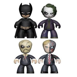 [Batman: Dark Knight: Mini Mez-Itz: Batman Figure Set (Product Image)]