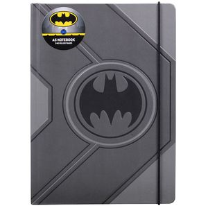 [Batman: A5 Black Notebook: Logo (Product Image)]