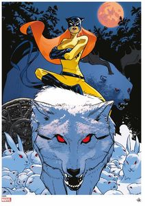 [Marvel: Giclee Print: Hellcat (Signed & Numbered) (Product Image)]