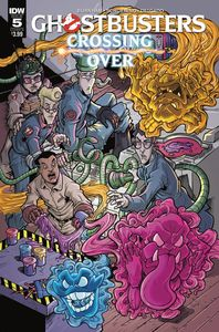 [Ghostbusters: Crossing Over #5 (Cover B Lattie) (Product Image)]