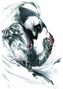[Moon Knight #1 (Gabriele Dell'Otto White Virgin Variant) (Product Image)]