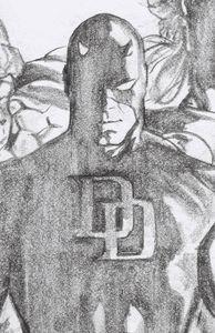 [Daredevil #23 (Alex Ross Daredevil Timeless Virgin Sketch Variant) (Product Image)]