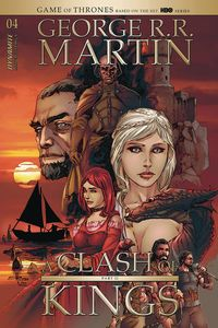 [George R. R. Martin's A Clash Of Kings #4 (Cover B Rubi) (Product Image)]