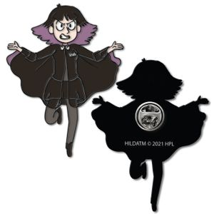 [Hilda: Enamel Pin Badge: The Librarian (Product Image)]