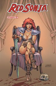 [Red Sonja #24 (Cover B Linsner) (Product Image)]