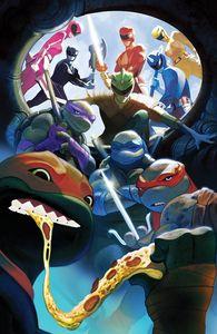[Power Rangers/Teenage Mutant Ninja Turtles #5 (Mundo Variant) (Product Image)]