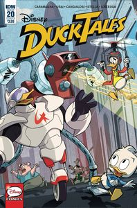 [Ducktales #20 (Cover B Disney) (Product Image)]