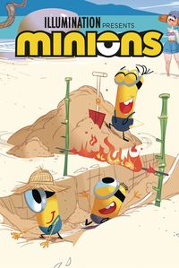 [The cover for Minions: Sports #2]