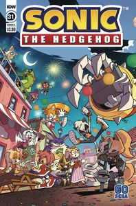[Sonic The Hedgehog #31 (Cover A Yardley) (Product Image)]