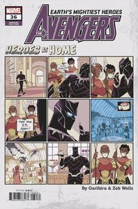 [Avengers #36 (Gurihiru Heroes At Home Variant) (Product Image)]