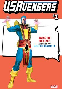 [Now U.S. Avengers #1 (South Dakota State - Reis Variant) (Product Image)]