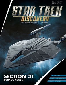 [Star Trek: Discovery: Official Starships Collection #9: Section 31 Deimos Class (Product Image)]