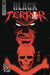 [The cover for Black Terror #1 (Cover A Francavilla)]