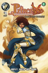 [Princeless: Find Yourself #4 (Cover B Knight) (Product Image)]