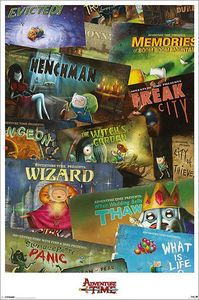 [Adventure Time: Episodes Poster (Product Image)]