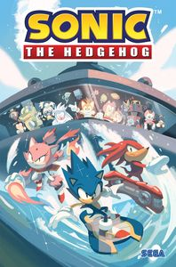 [Sonic The Hedgehog: Volume 3: Battle For Angel Island (Product Image)]