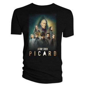 [Star Trek: Picard: T-Shirt: The Crew & Badge (Product Image)]