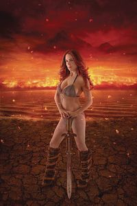 [Red Sonja: Age Of Chaos #1 (Cosplay Virgin Variant) (Product Image)]