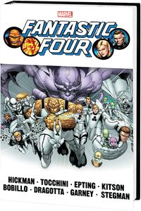 [Fantastic Four By Hickman: Omnibus: Volume 2 (DM Variant New Printing Hardcover) (Product Image)]