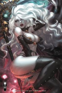 [Lady Death: Blasphemy Anthem #2 (Premium Foil K Lim Cover) (Product Image)]