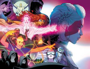 [The Wicked + The Divine #34 (Cover C Virgin Wraparound) (Product Image)]
