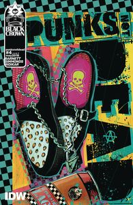 [Punks Not Dead #4 (Cover A Simmonds) (Product Image)]