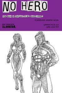[No Hero #7 (Design Sketch Variant) (Product Image)]