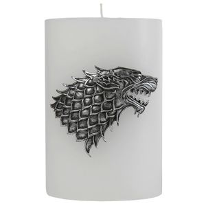 [Game Of Thrones: Extra Large Candle: House Stark (Product Image)]